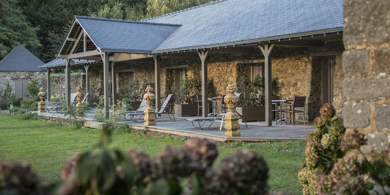 terrasse of confort piscine