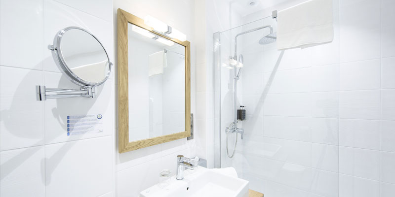 bathroom of confort room
