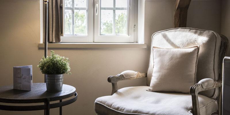 living room suite hotel de l'Abbaye