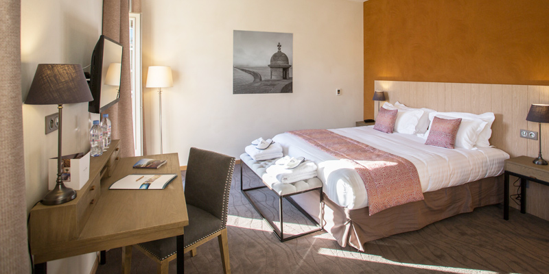 confort bedrooms hotel de l'Abbaye 2