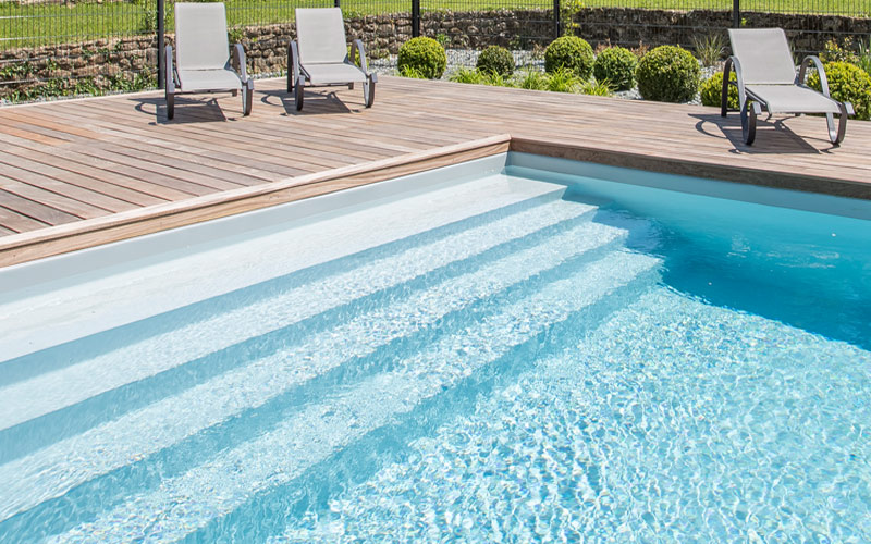 Charming pool in Brittany